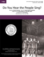 Do You Hear the People Sing? (TTBB) (arr. Gentry)