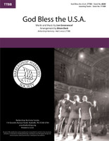 God Bless the U.S.A. (TTBB) (arr. Beck)