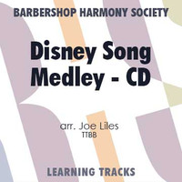 Disney Song Medley (TTBB) (arr. Liles) - CD Learning Tracks for 7675