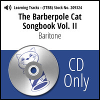 Barberpole Cat Songbook Vol. II (Baritone) - CD Learning Track for 212677