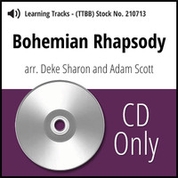 Bohemian Rhapsody (TTBB) (arr. Sharon & Scott) - CD Learning Tracks for 210258
