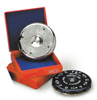 Master-Key Chromatic Pitch Pipe Available in pitch ranges from C - C or F - F. Colors: Black or Silver Includes its own personal storage box made for travel and easy carrying.
