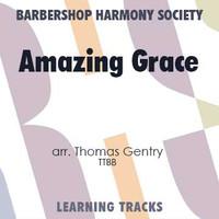 Amazing Grace (TTBB) (arr. Gentry) - CD Learning Tracks for 7713