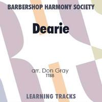 Dearie (TTBB) (arr. Gray) - CD Learning Tracks for 7318