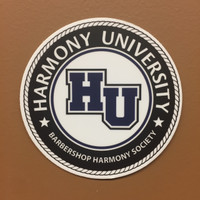 Harmony University Sticker