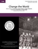 Change the World (TTBB) (arr. Sharon & Wright)