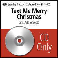 Text Me Merry Christmas (SSAA) (arr. Scott) - CD Learning Tracks for 210875
