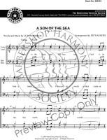 A Son of the Sea (TTBB) (arr. Waesche) - Download