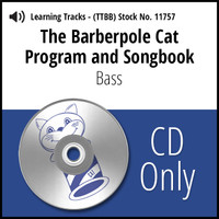 Barberpole Cat Songbook Vol. I (Bass) - CD Learning Track for 209064