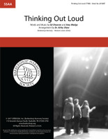 Thinking Out Loud (SSAA) (arr. Shaw)