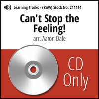 Can't Stop the Feeling (SSAA) (arr. Dale) - CD Learning Tracks for 211412
