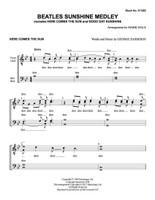 Beatles Sunshine Medley (TTBB) (arr. Hale) - September Dollar Download