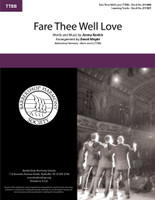 Fare Thee Well Love (TTBB) (arr. Wright)