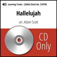 Hallelujah (SSAA) (arr. Scott) - CD Learning Tracks for 209713