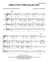 Crazy Little Thing Called Love (TTBB) (arr. Dale) - Download