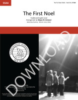 The First Noel (SSAA) (arr. Grimmer) - Download