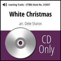 White Christmas (TTBB & SATB) (arr. Sharon) - CD Learning Tracks for 212036 & 212038