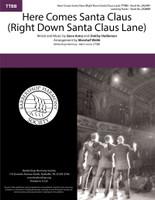 Here Comes Santa Claus (Right Down Santa Claus Lane) (TTBB) (arr. Webb)