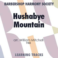 Hushabye Mountain (TTBB) (arr. Mitchell) - CD Learning Tracks for 8840
