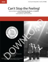 Can't Stop the Feeling (SSAA) (arr. Dale) - Download