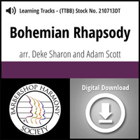 Bohemian Rhapsody (TTBB) (arr. Sharon & Scott) - Digital Learning Tracks - for 210258