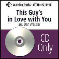 This Guy's in Love with You (TTBB) (arr. Wessler) - CD Learning Tracks for 212445