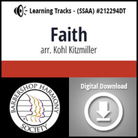 Faith (SSAA) (arr. Kitzmiller) - Digital Learning Tracks - for 212291