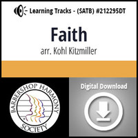 Faith (SATB) (arr. Kitzmiller) - Digital Learning Tracks - for 212292