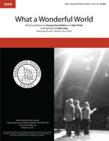 What a Wonderful World (SSAA) (arr. Long)