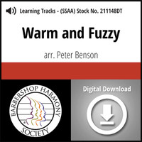 Warm and Fuzzy (SSAA) (arr. Benson) - Digital Learning Tracks - for 211128