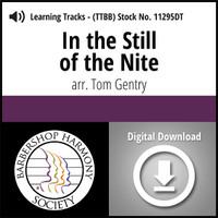 In the Still of the Nite (TTBB) (arr. Gentry) - Digital Learning Tracks - for 8629
