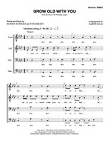 Grow Old with You (TTBB) (arr. Dale) - Download