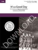 It's a Good Day (TTBB) (arr. Steinkamp) - Download