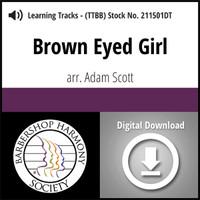Brown Eyed Girl (TTBB) (arr. Scott) - Digital Learning Tracks - for 211500