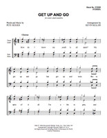 Get Up and Go (TTBB) (arr. Keller) - Download