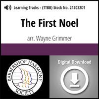 The First Noel (TTBB) (arr. Grimmer) - Digital Learning Tracks - for 211962