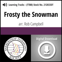 Frosty the Snowman (TTBB) (arr. Campbell) - Digital Learning Tracks - for 7697