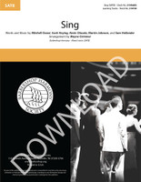 Sing (SATB) (arr. Grimmer) - Download