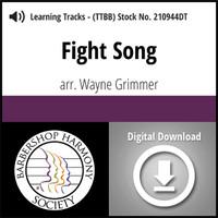 Fight Song (TTBB) (arr. Grimmer) - Digital Learning Tracks - for 209915