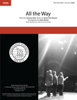 All the Way (SSAA) (arr. Briner)