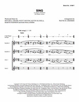 Sing (SSAA) (arr. Grimmer) - Download