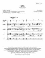 Sing (SSAA) (arr. Grimmer) - Download