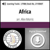 Africa (TTBB) (arr. Morris) - Digital Learning Tracks - for 211487