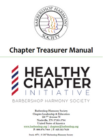 Chapter Treasurer Manual