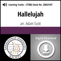 Hallelujah (TTBB) (arr. Scott) - Digital Learning Tracks - for 208542