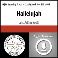 Hallelujah (SSAA) (arr. Scott) - Digital Learning Tracks - for 209713