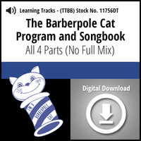 Barberpole Cat Songbook Vol. I (All 4 Parts) - Digital Learning Tracks for 209064