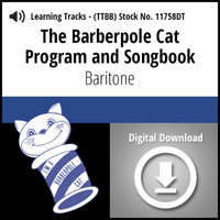 Barberpole Cat Songbook Vol. I (Baritone) - Digital Learning Tracks for 209064