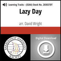 Lazy Day (SSAA) (arr. Wright)- Digital Learning Tracks - for 203007