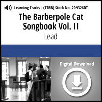Barberpole Cat Songbook Vol. II (Lead) - Digital Learning Track for 212677